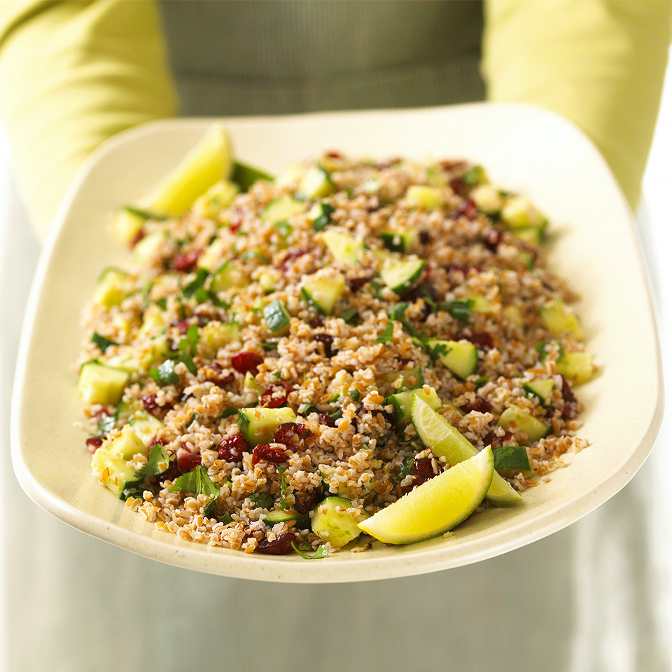 Cilantro Tabbouleh with Cranberries Diabetic Living Magazine