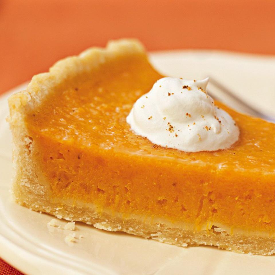 Citrus-Sweet Potato Pie Diabetic Living Magazine