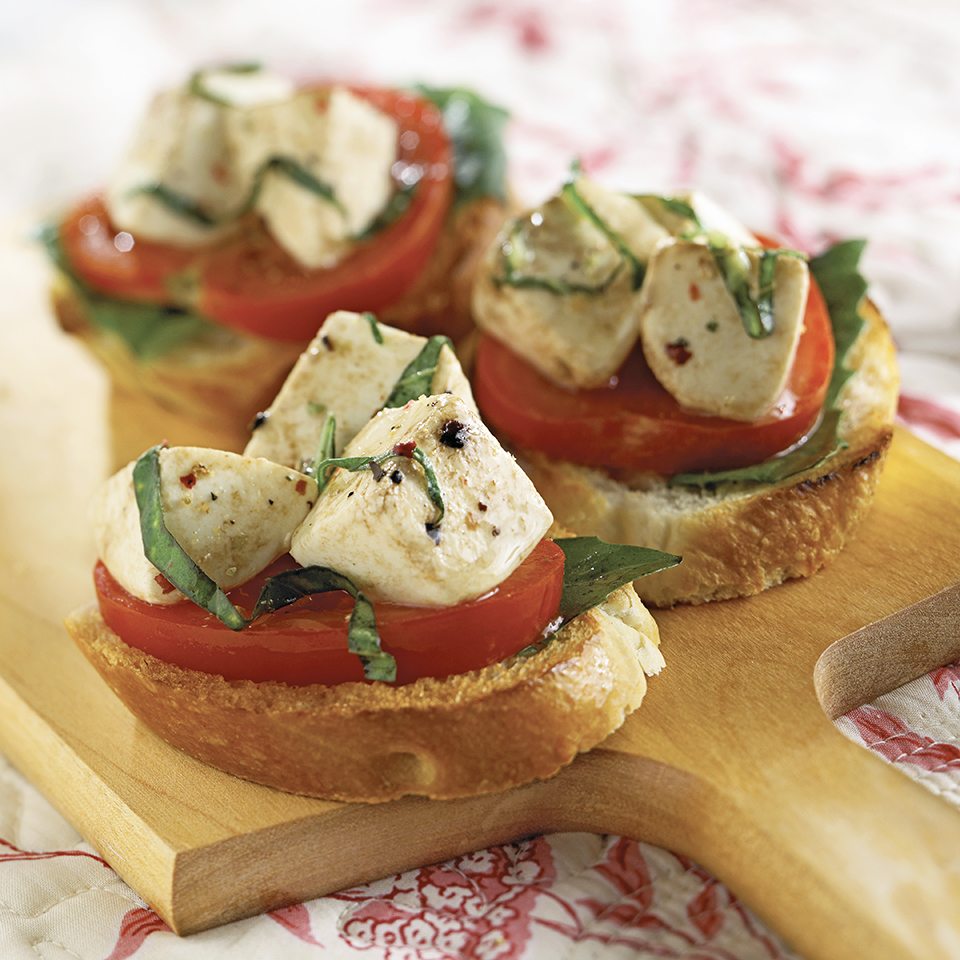 Mozzarella with Basil Trusted Brands