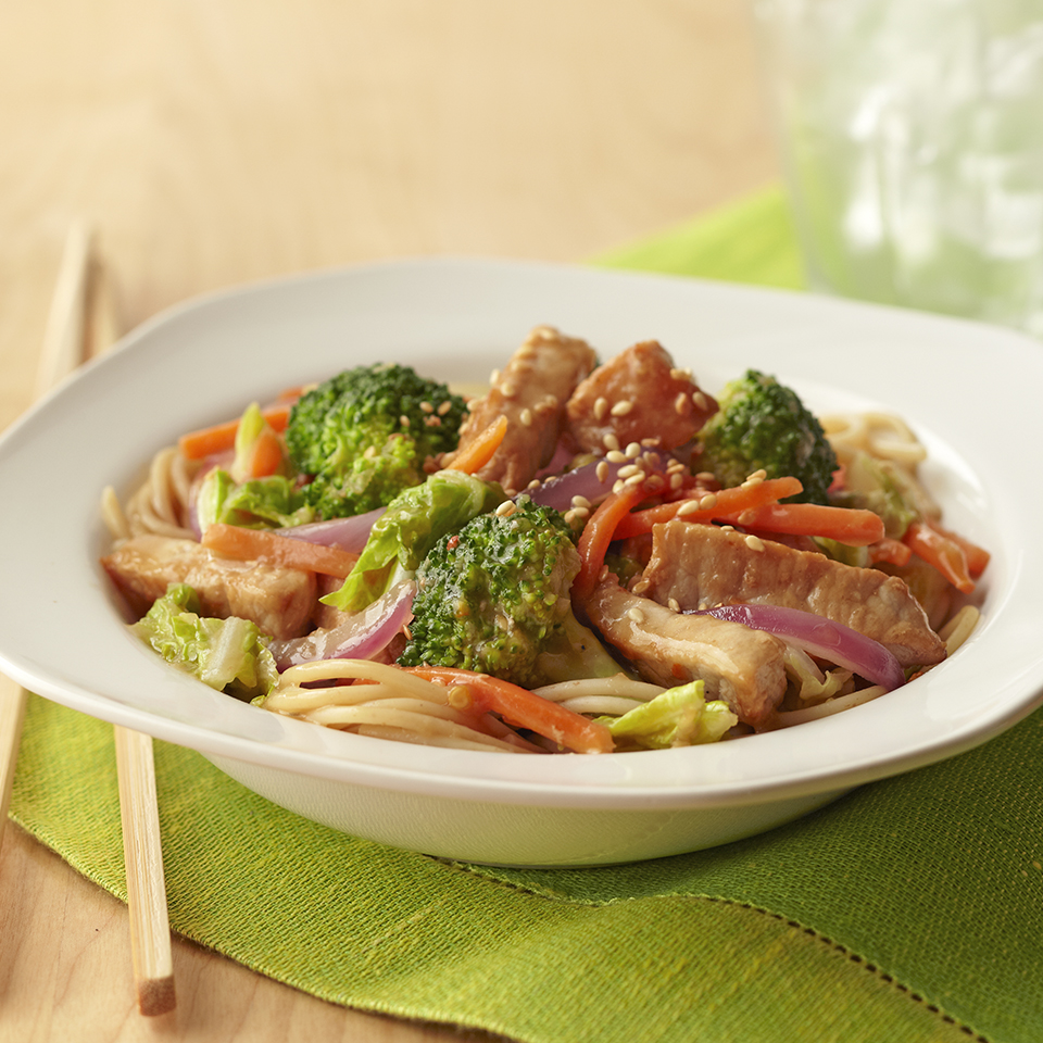 Sweet Asian Pork Stir-Fry Diabetic Living Magazine