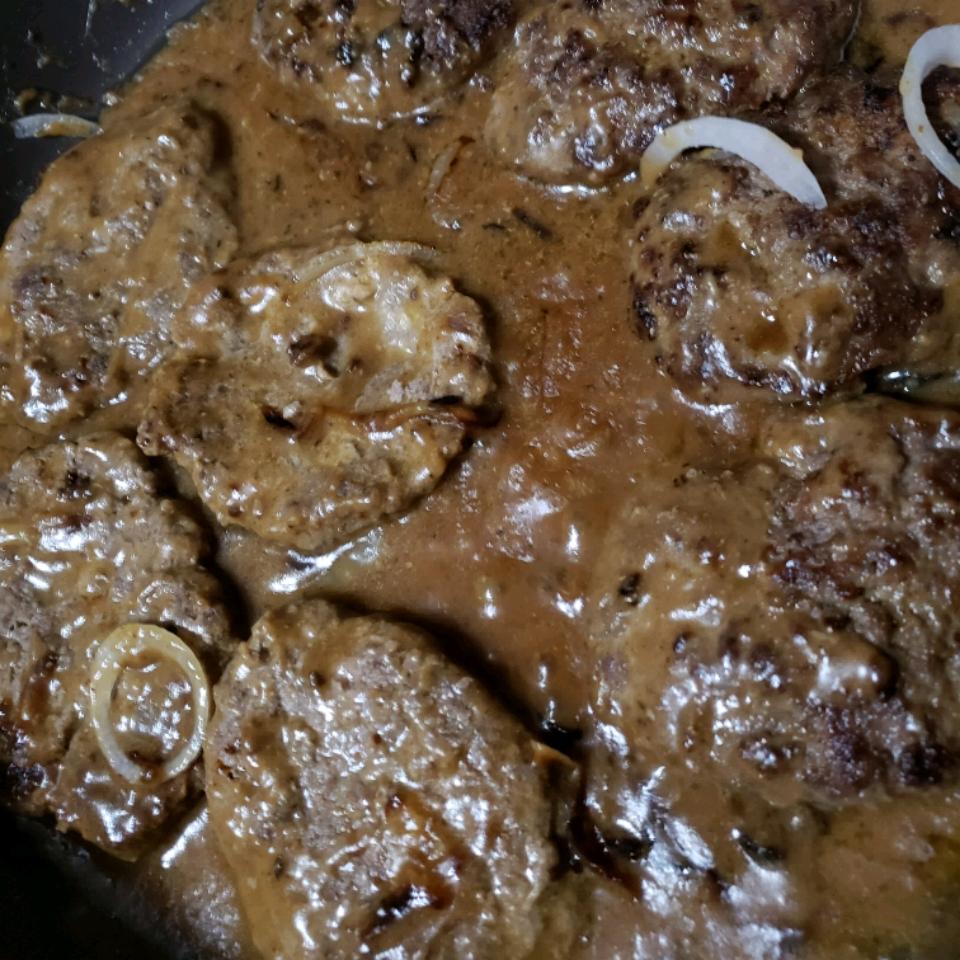 Hamburger Steak with Onions and Gravy Nick S. (sixthreezy)