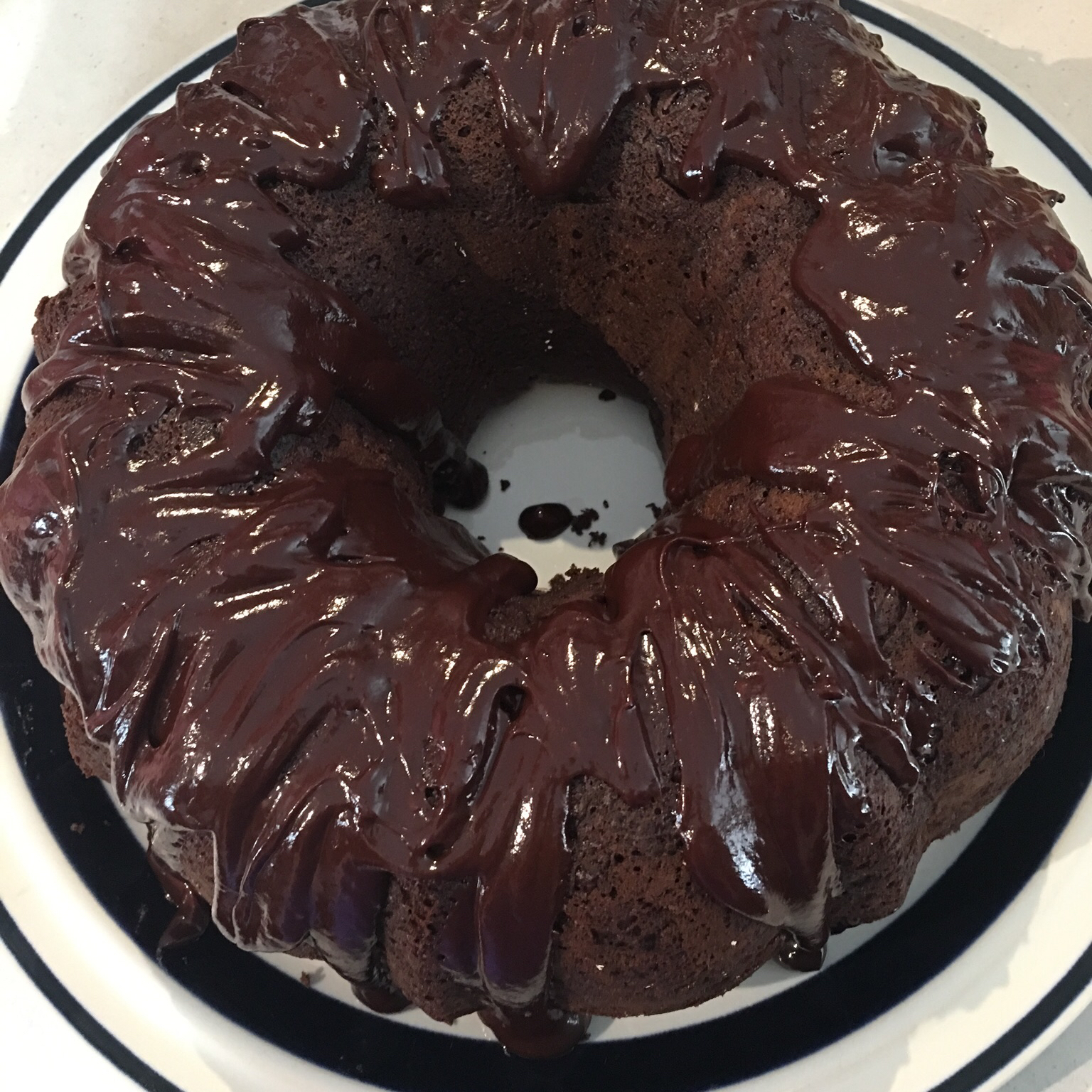Double Chocolate Brownie Cake Karen Groen