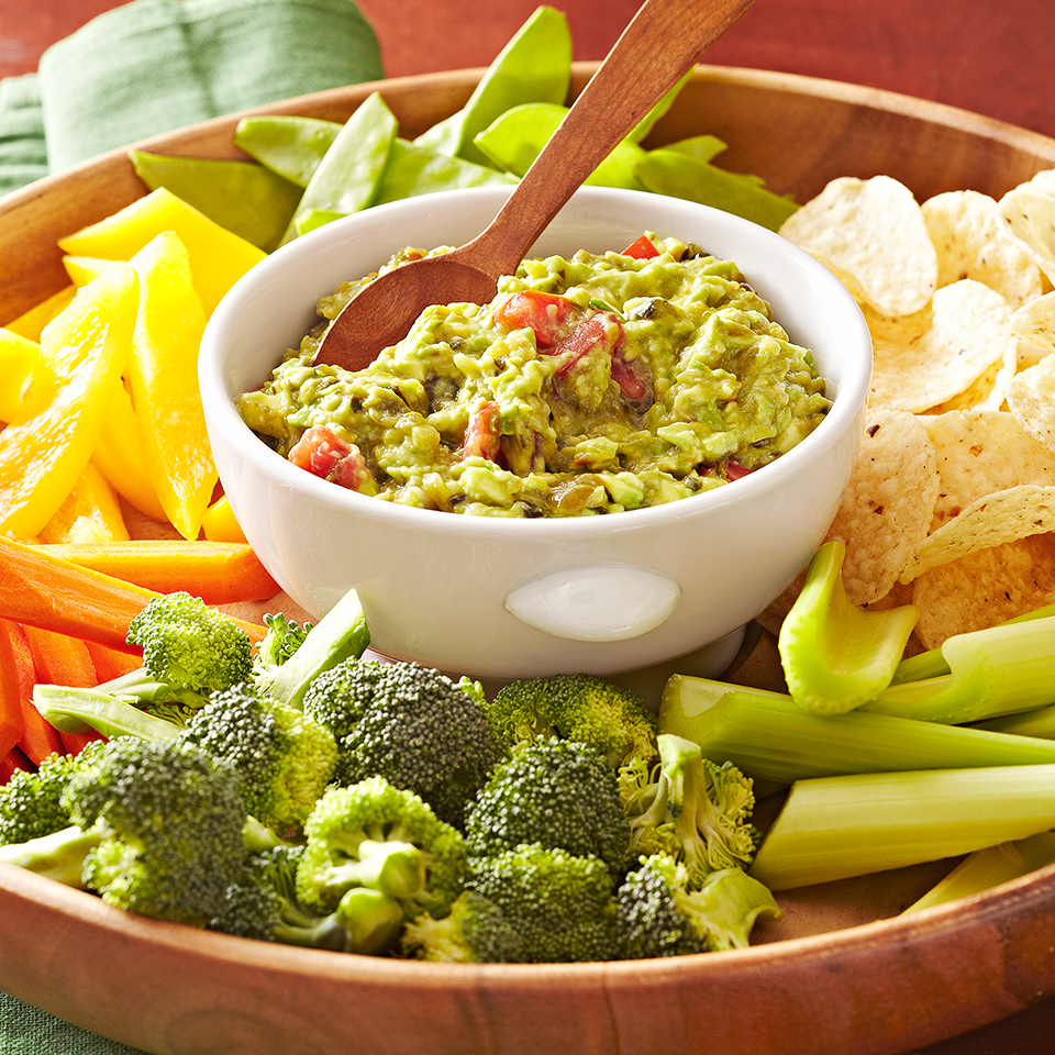 Spicy Guacamole Diabetic Living Magazine