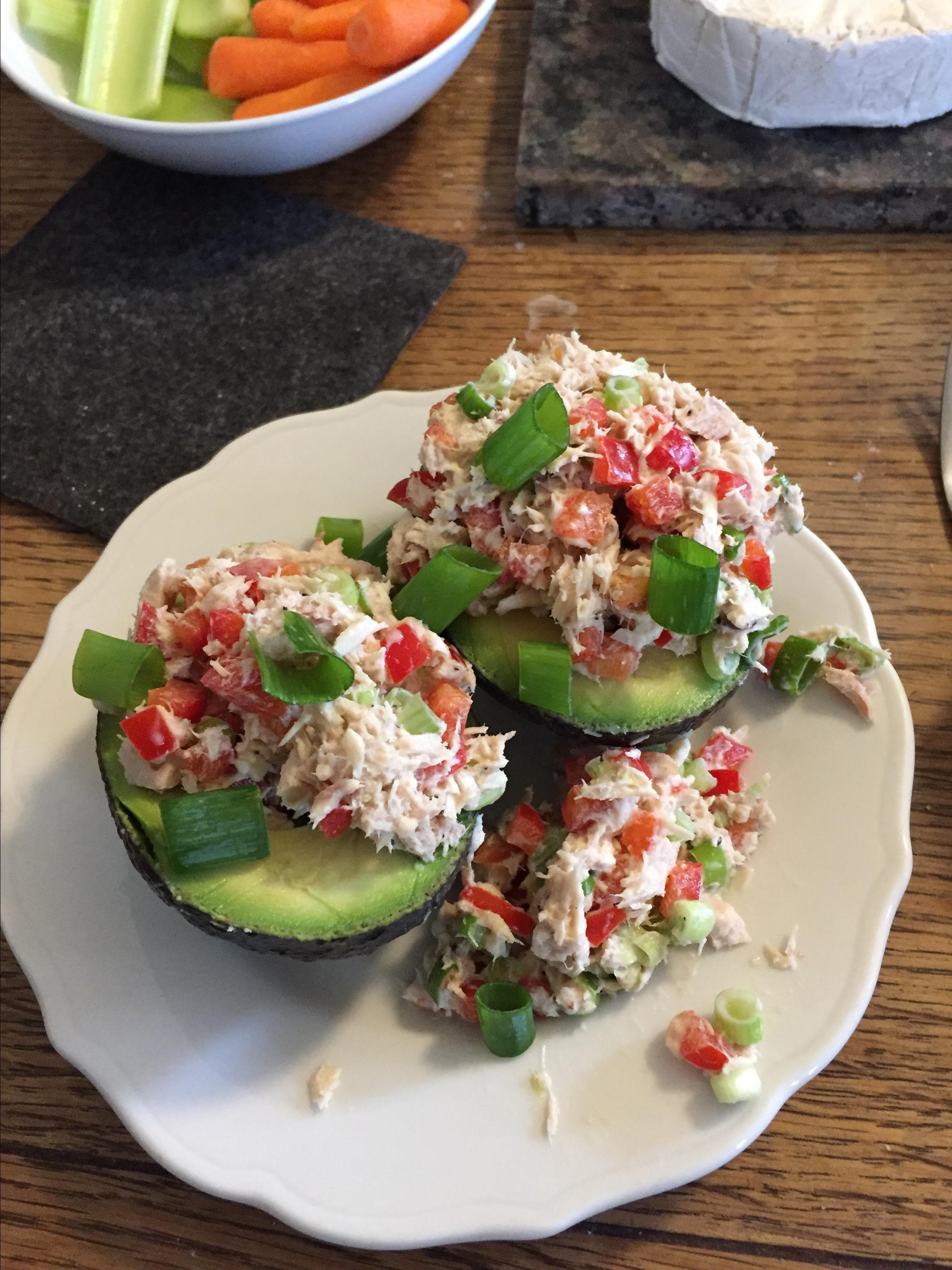 Avocado and Tuna Tapas Revger