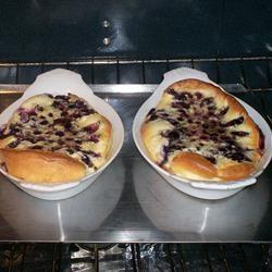 Puffed Blueberry Pancakes Deb C