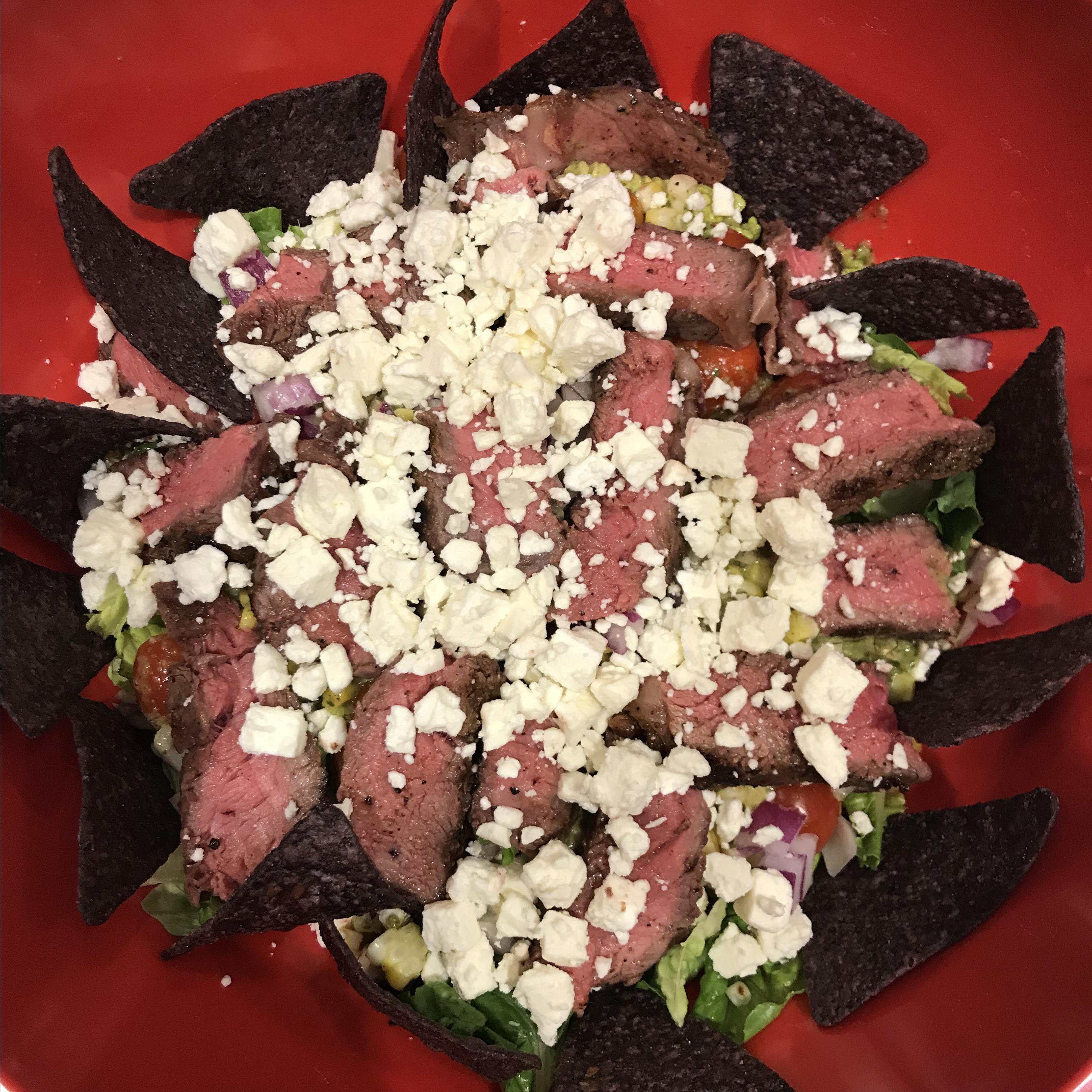 Cilantro-Lime Steak Salad jennylj