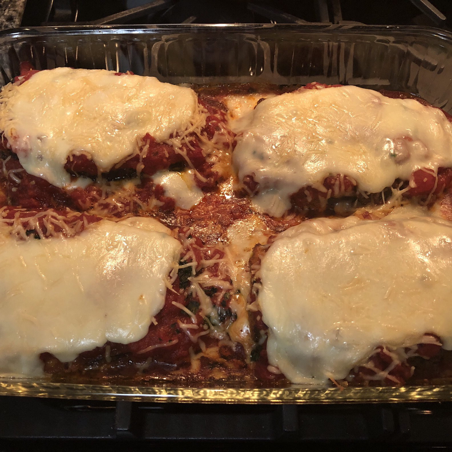 Eggplant Parmigiana with Margherita® Pepperoni
