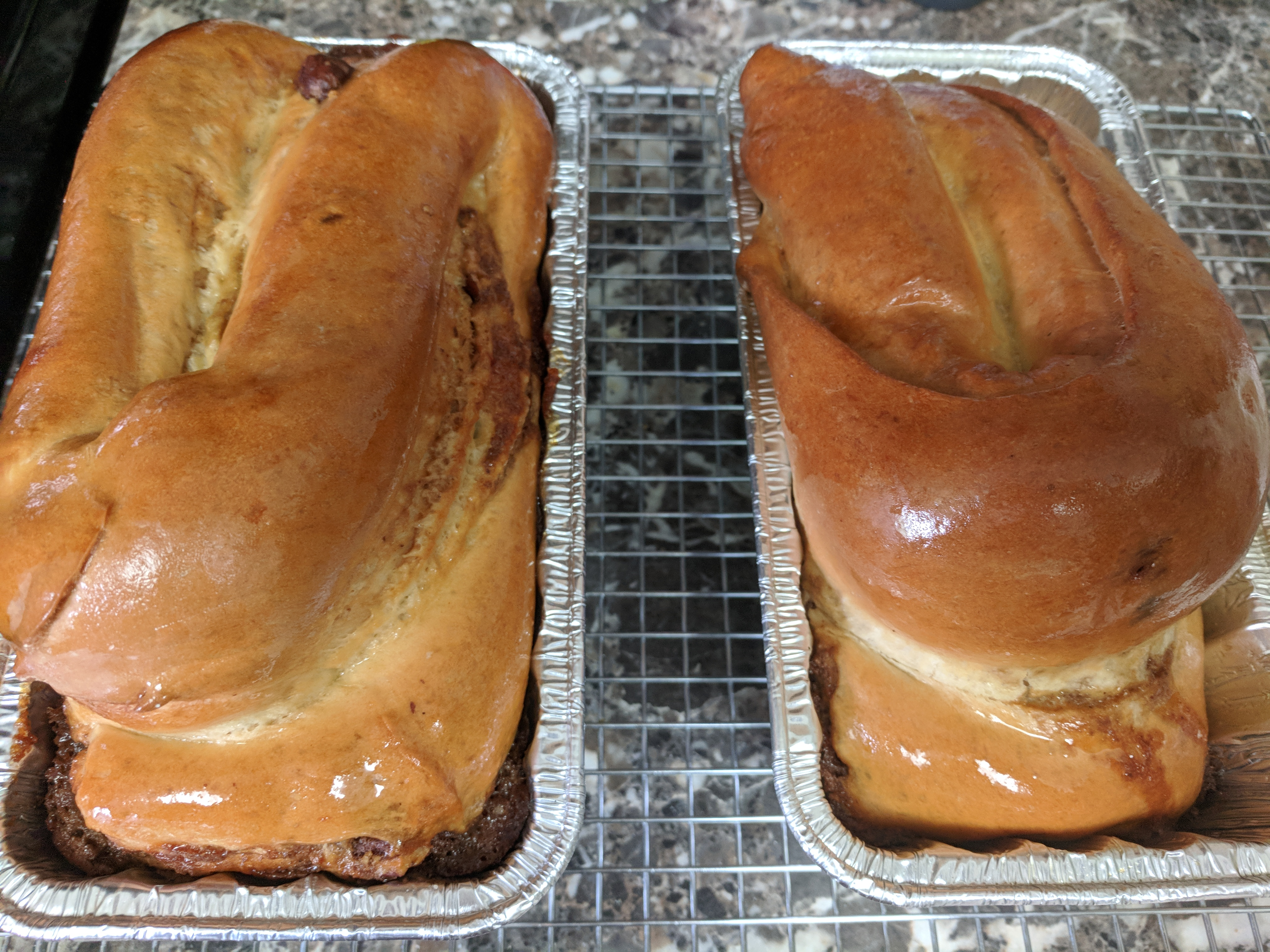 Grandma's Povitisa (Po-vuh-teet-zuh) Povitica Croatian Nut Bread Suzanne W.