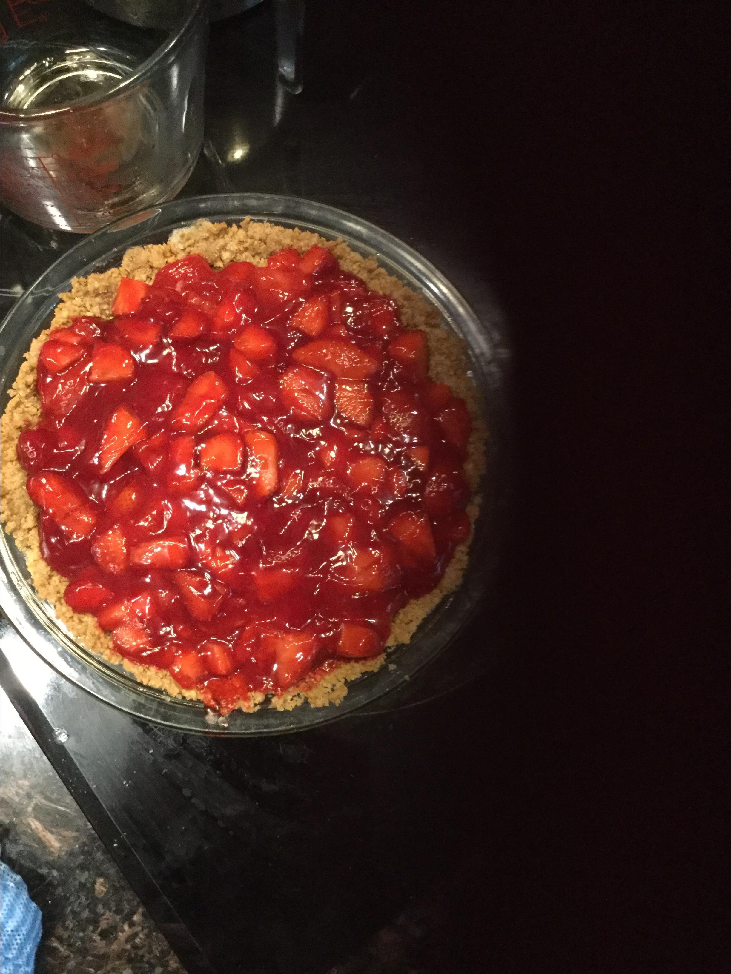 Strawberry Glazed Pie