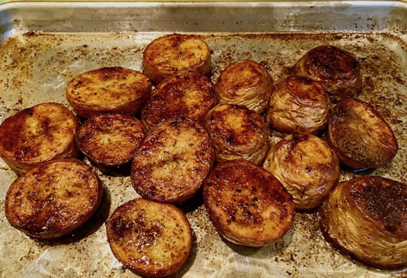 Roasted Melting Potatoes