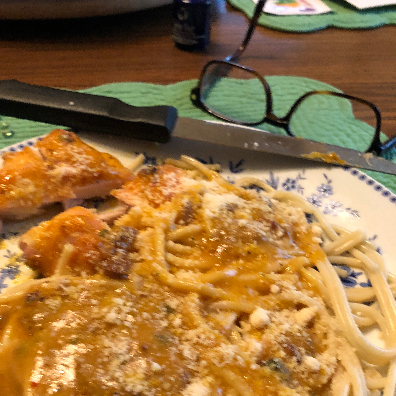 Angel Chicken Pasta