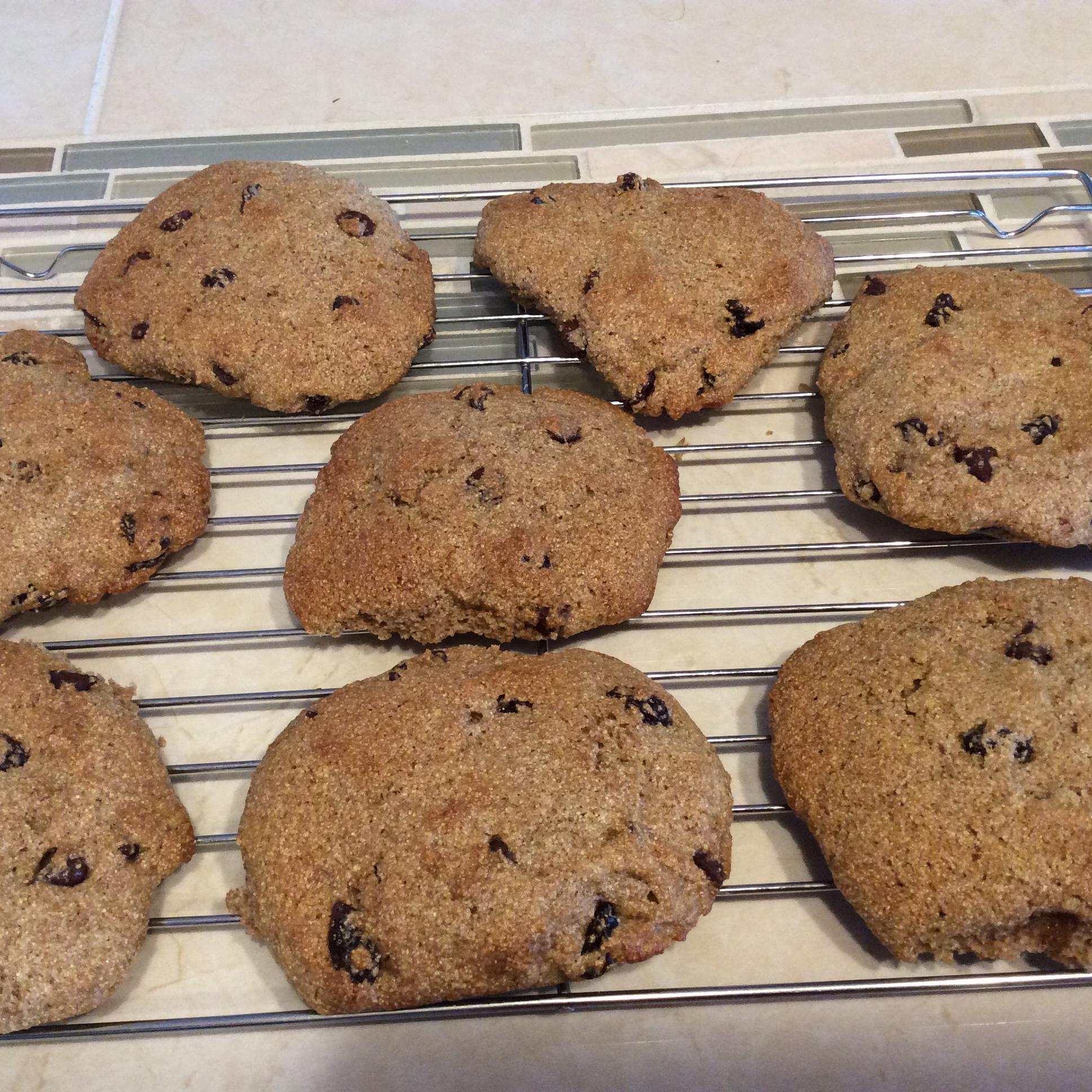 Spelt Cherry Cookies Ming Huey