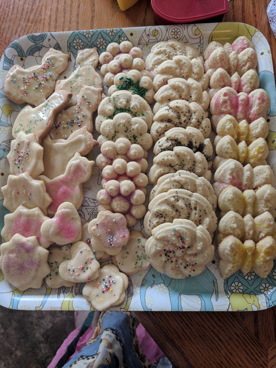Grandma's Cutout Sugar Cookies