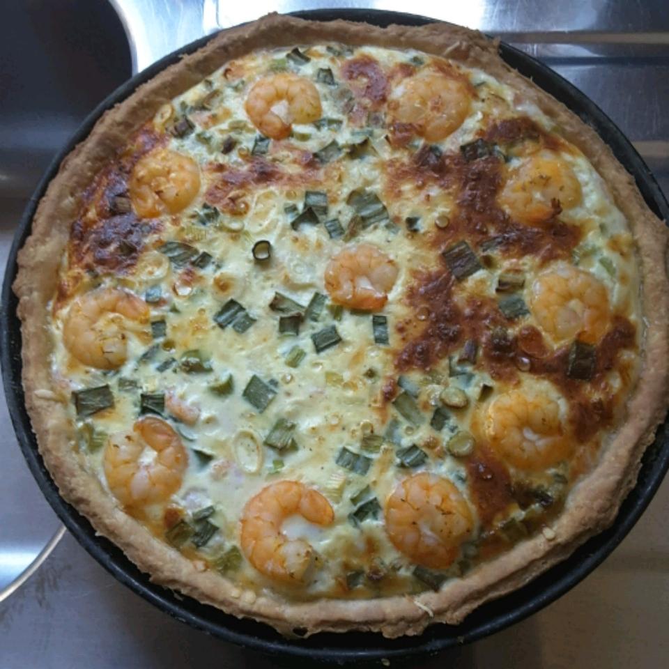 Shrimp Quiche Salata