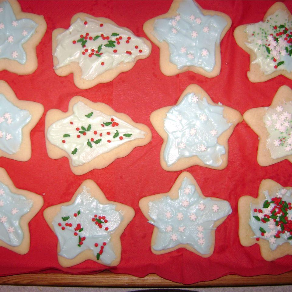 Shaped Vanilla Cookies Sherise Montie