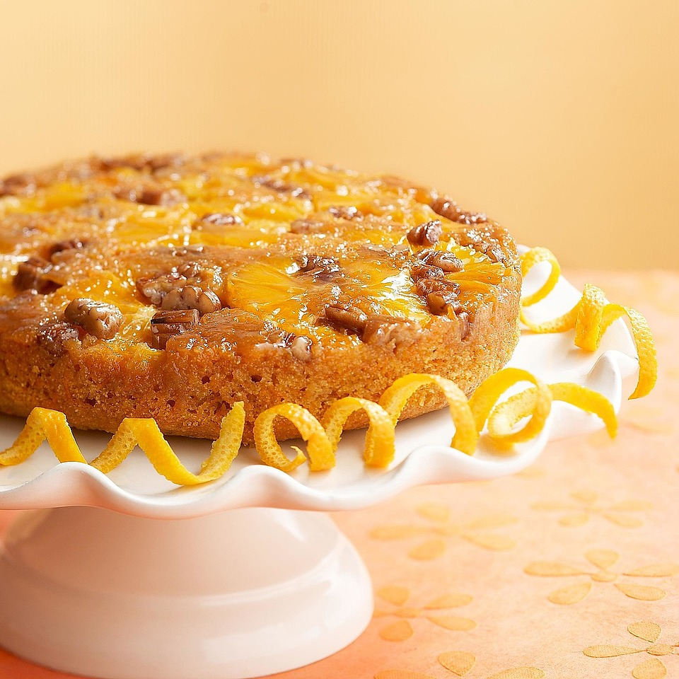 Upside-Down Orange Carrot Cake Trusted Brands