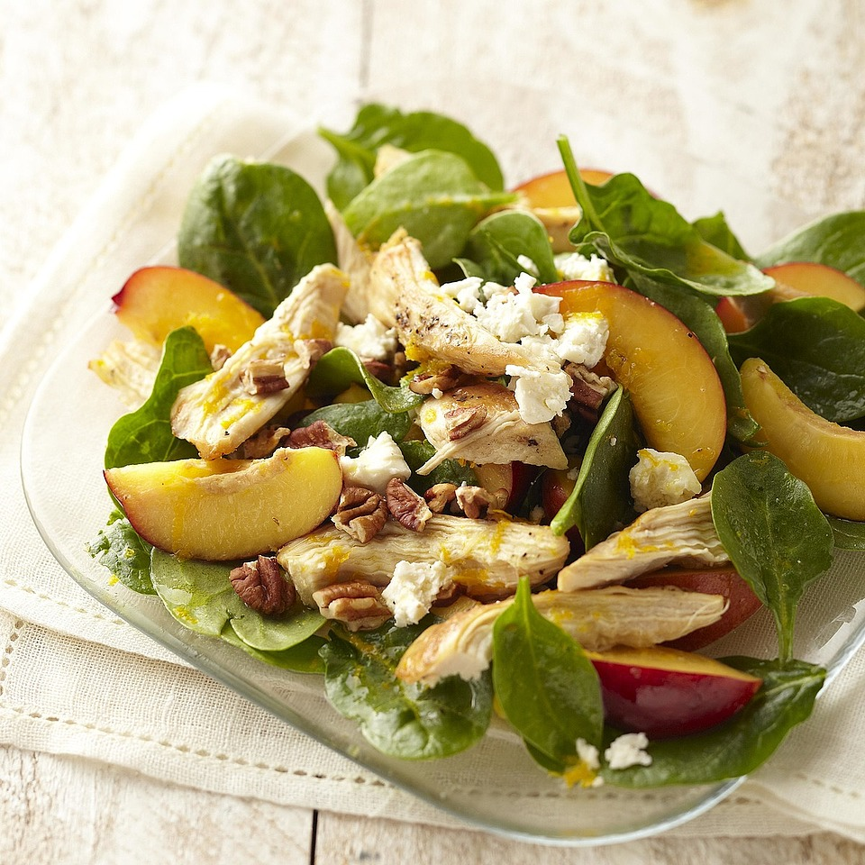 Chicken & Nectarine Salad Trusted Brands