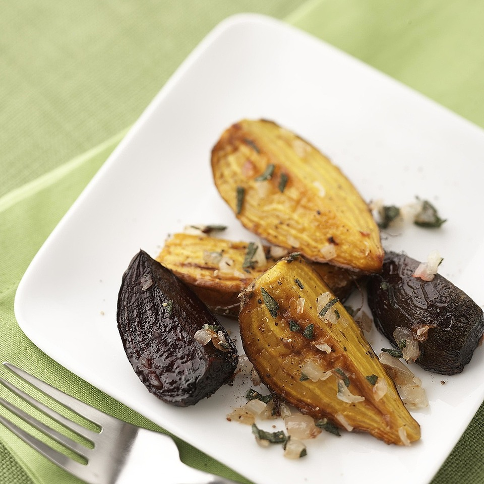 Roasted Beets & Shallots Diabetic Living Magazine