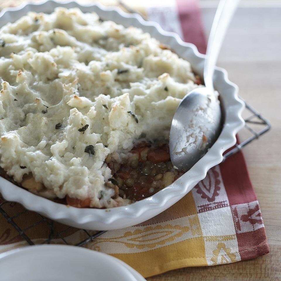 Lentil & Veggie Shepherd's Pie Diabetic Living Magazine