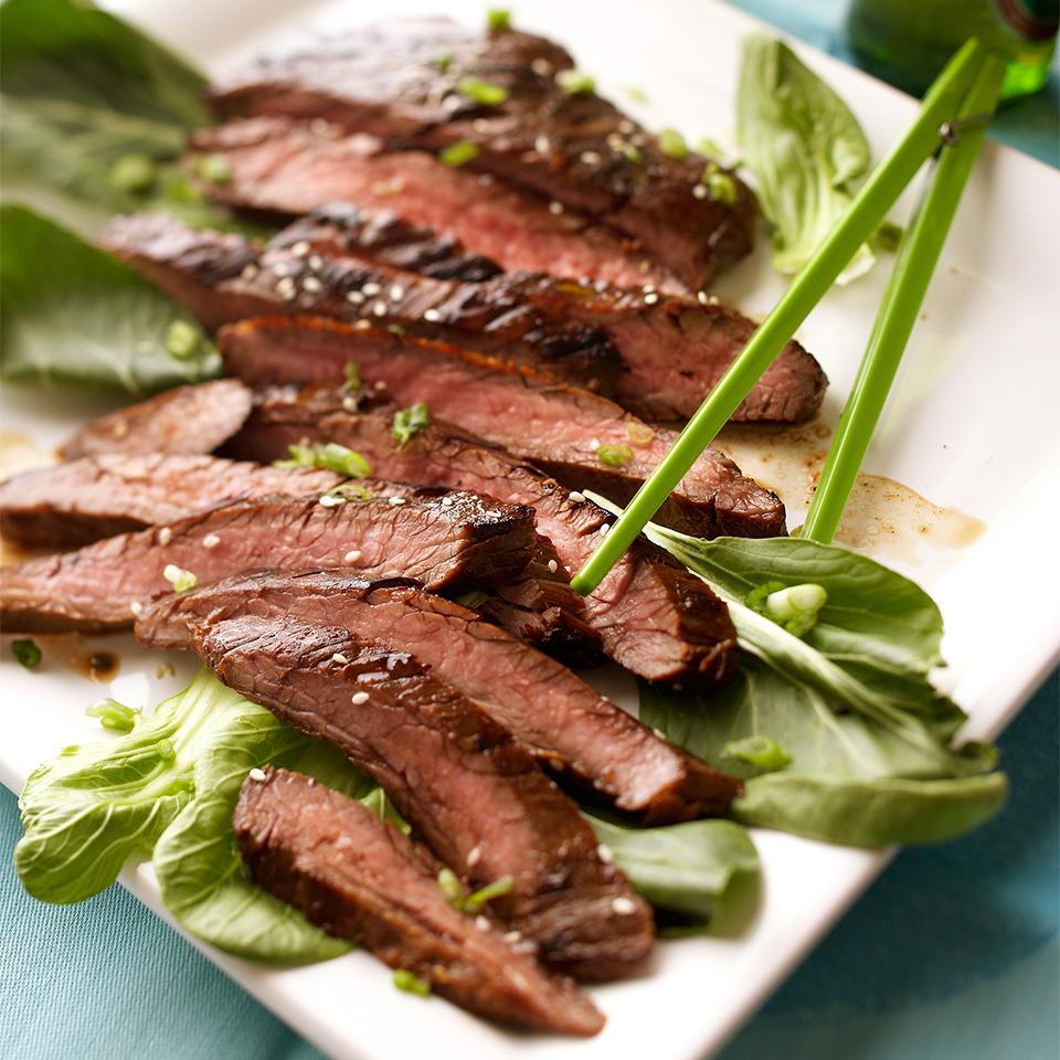 Korean Barbecued Flank Steak Diabetic Living Magazine