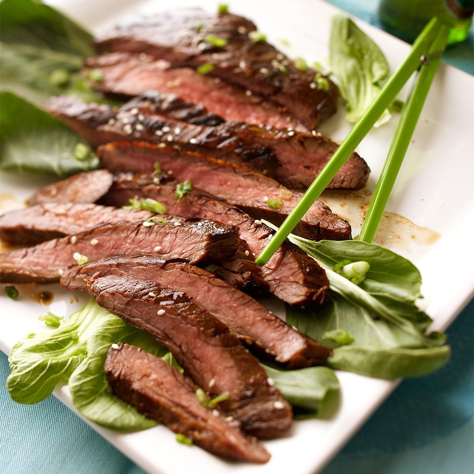 Korean Barbecued Flank Steak Trusted Brands