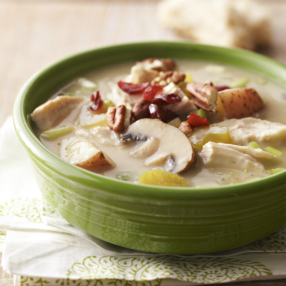 Creamy Turkey Soup Diabetic Living Magazine