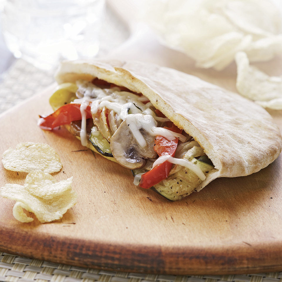 Roasted Veggie Pitas Allrecipes Trusted Brands