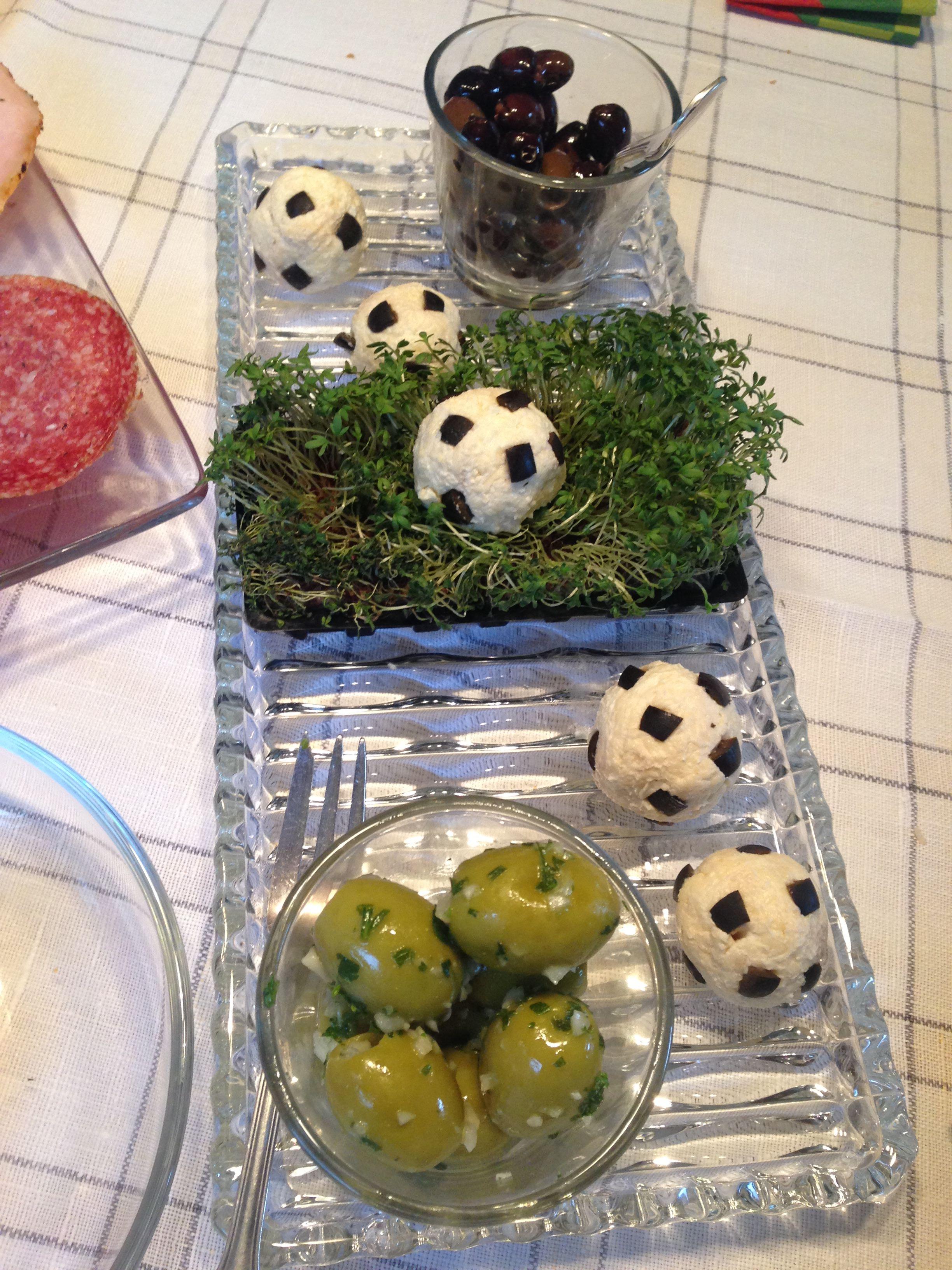 Soccer Cheese Ball Bites AllrecipesPhoto