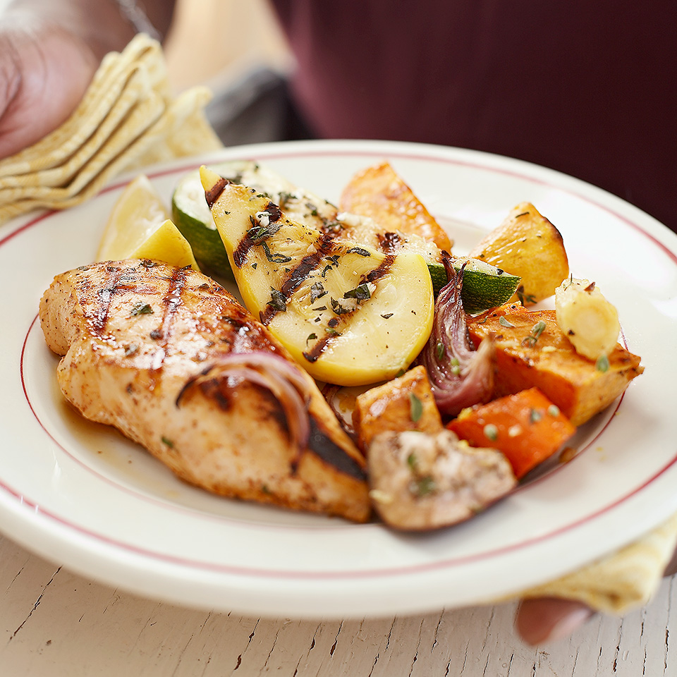Three-Way Marinated Chicken Diabetic Living Magazine