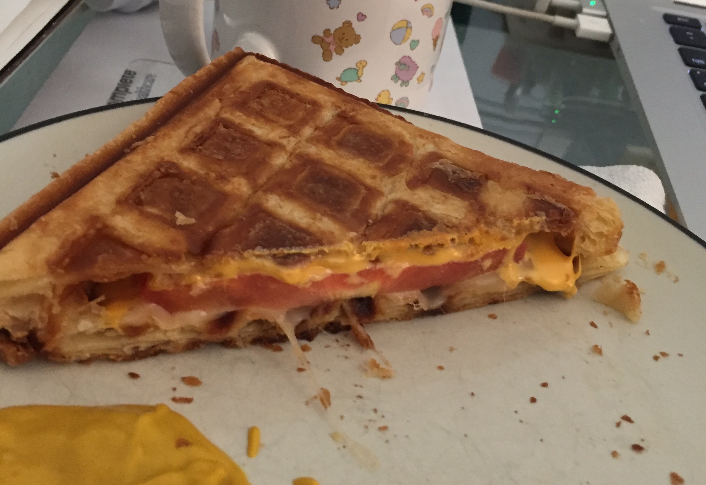 Puff Pastry Waffles Brian