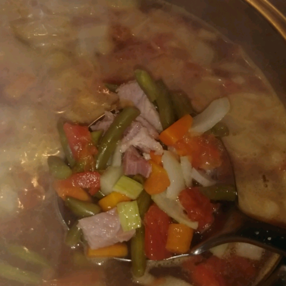 Ham Bone and Vegetable Soup