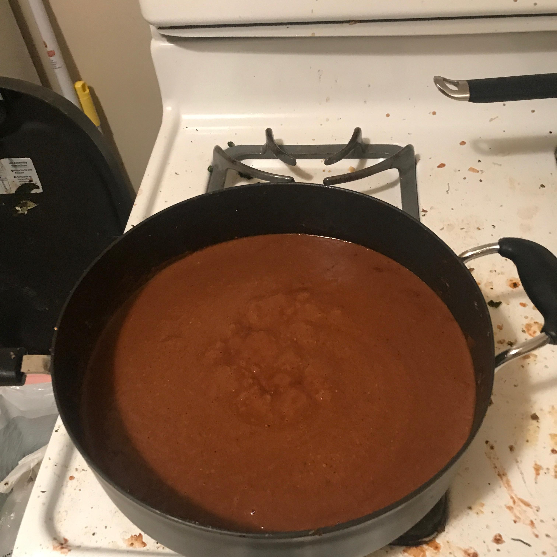 Authentic Mole Sauce Rich Matli