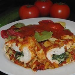 Artichoke and Tomato Chicken