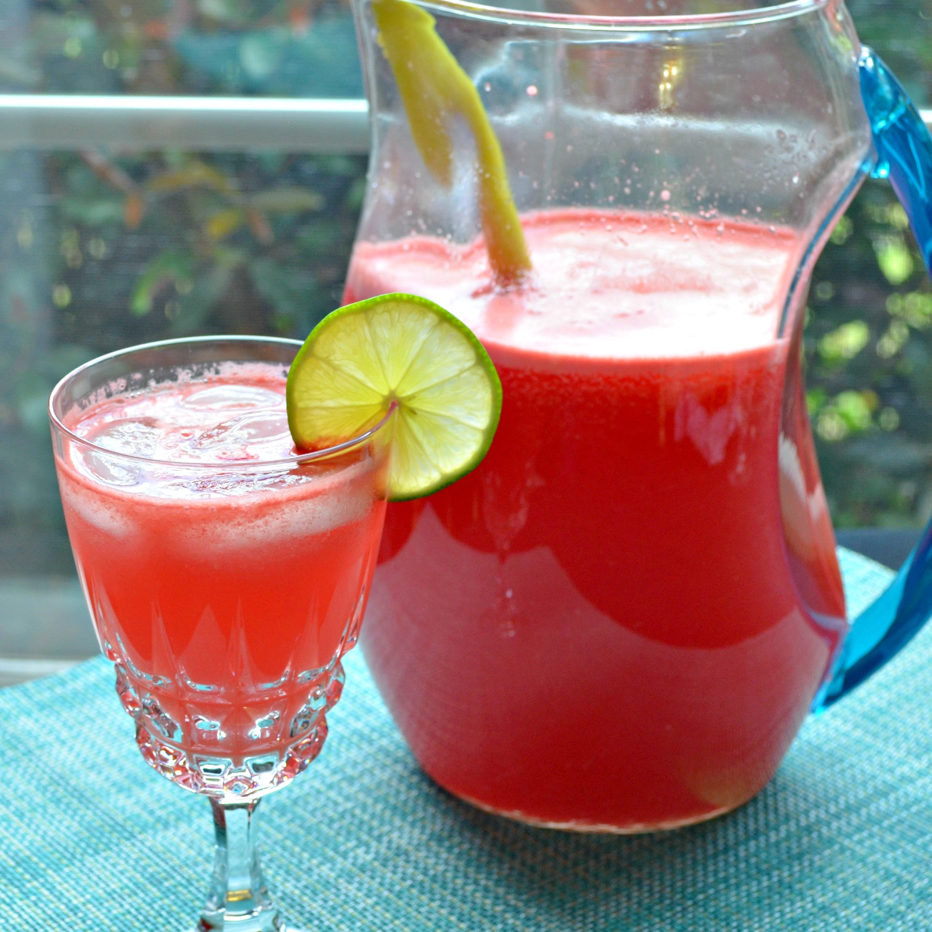 Watermelon Lime Agua Fresca Kim's Cooking Now