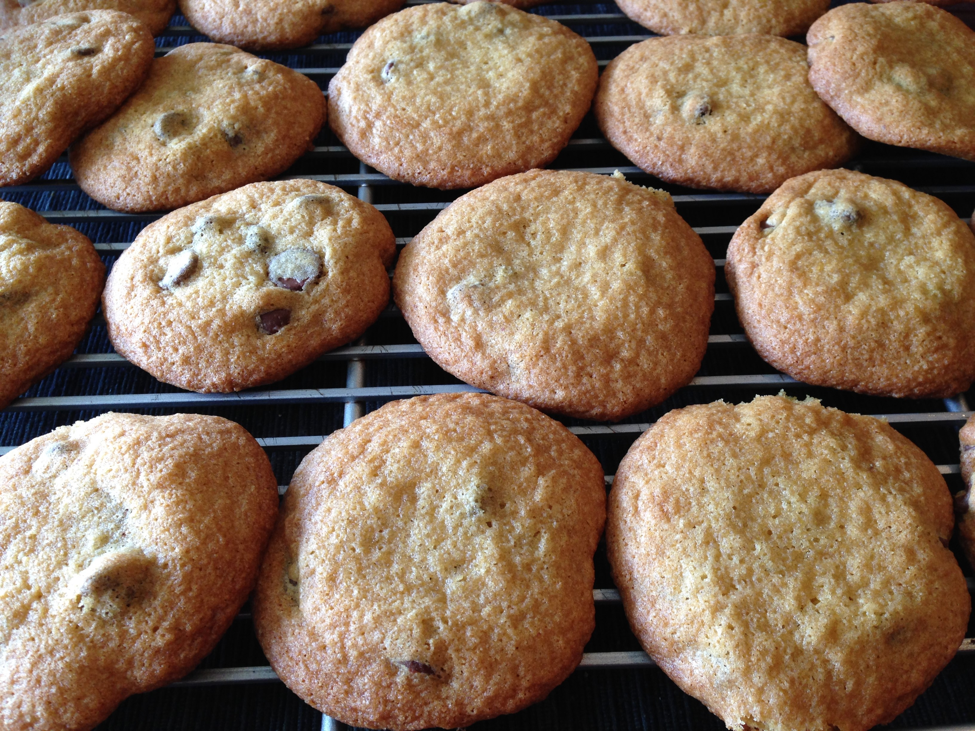 Fluffy Chocolate Chip Cookies virgi