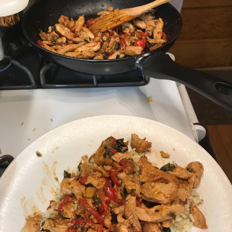 Thai Ginger Chicken (Gai Pad King) Chicagobaker