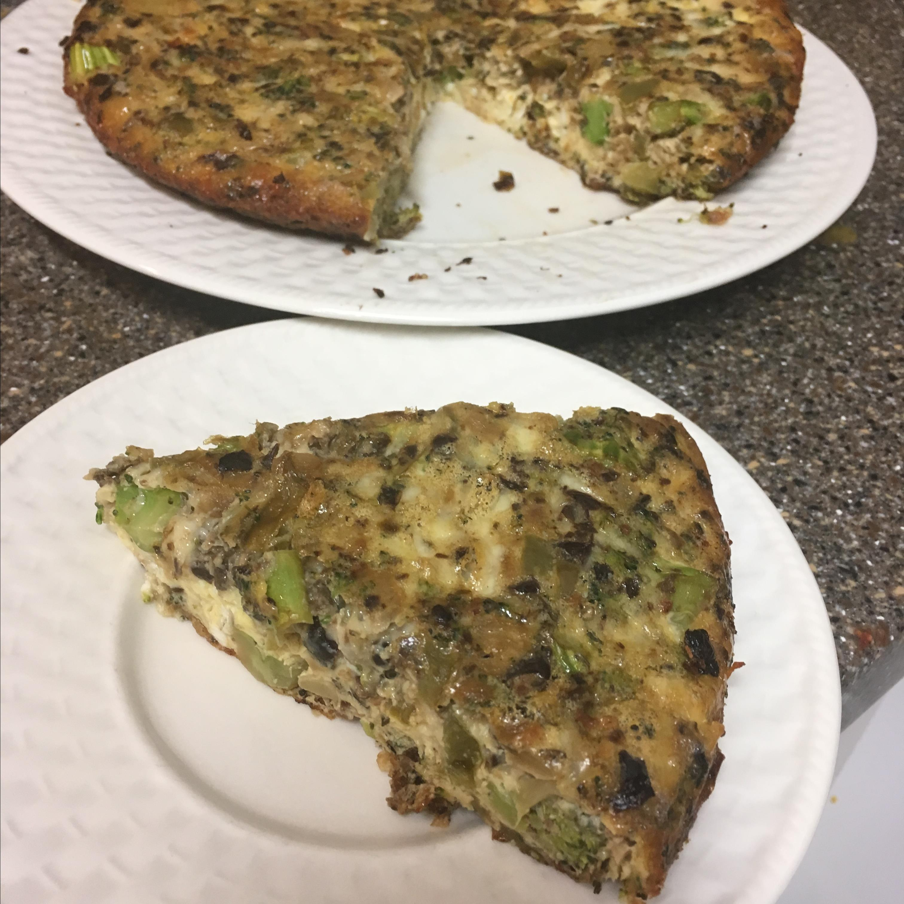 Cast Iron Skillet Vegetable Frittata