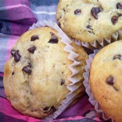 Chocolate Chip Banana Muffins marlakay