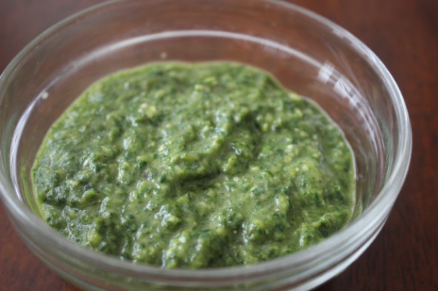 Green Chile Chimichurri mommyluvs2cook