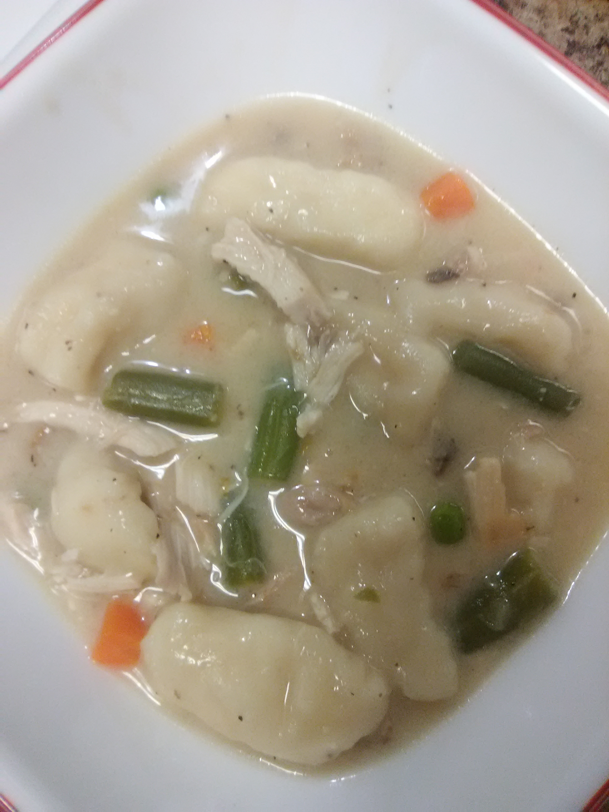 Super Easy Chicken and Dumplings