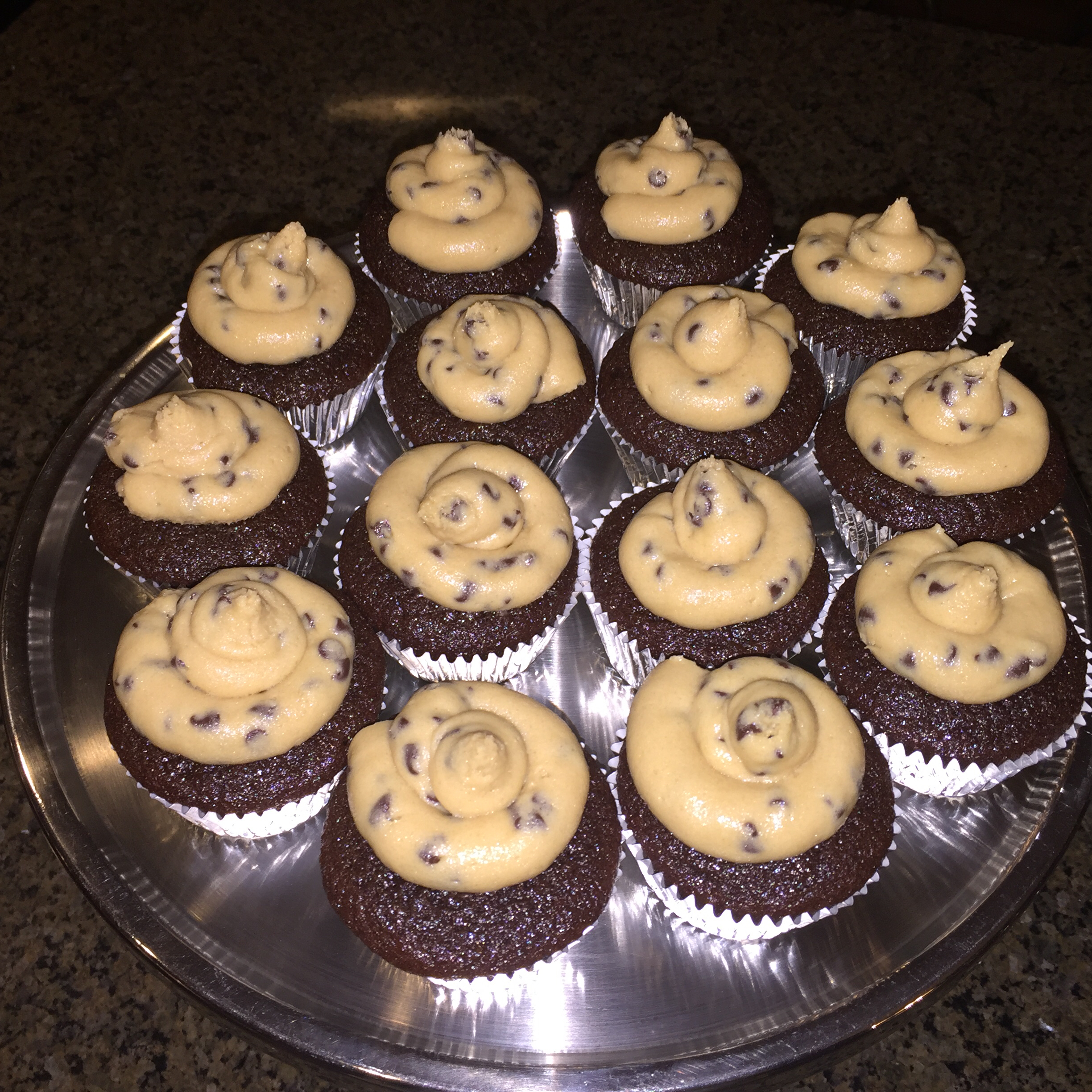 Chocolate Chip Cookie Dough Frosting tammie