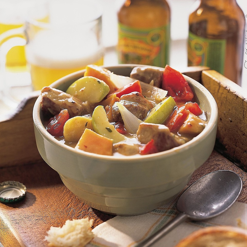 Hearty Pork-Beer Stew Diabetic Living Magazine