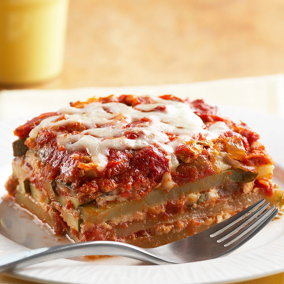 Zucchini & Turkey Lasagna Diabetic Living Magazine