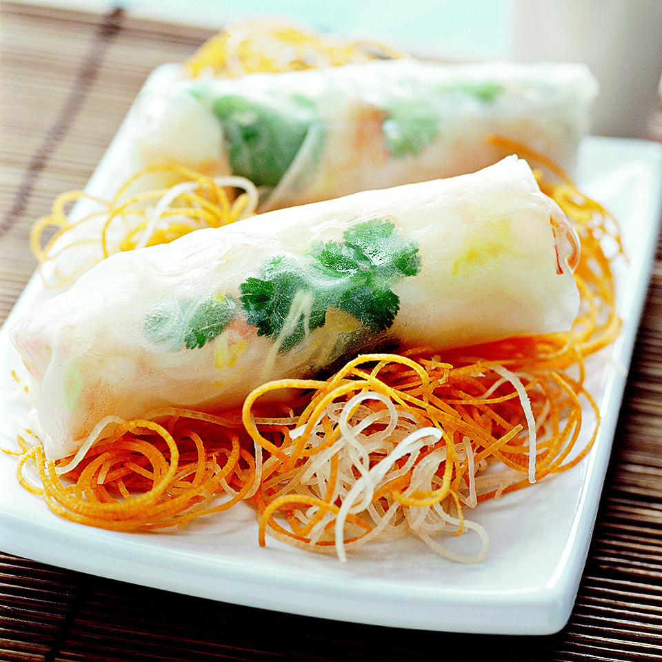 Fresh Spring Rolls Diabetic Living Magazine