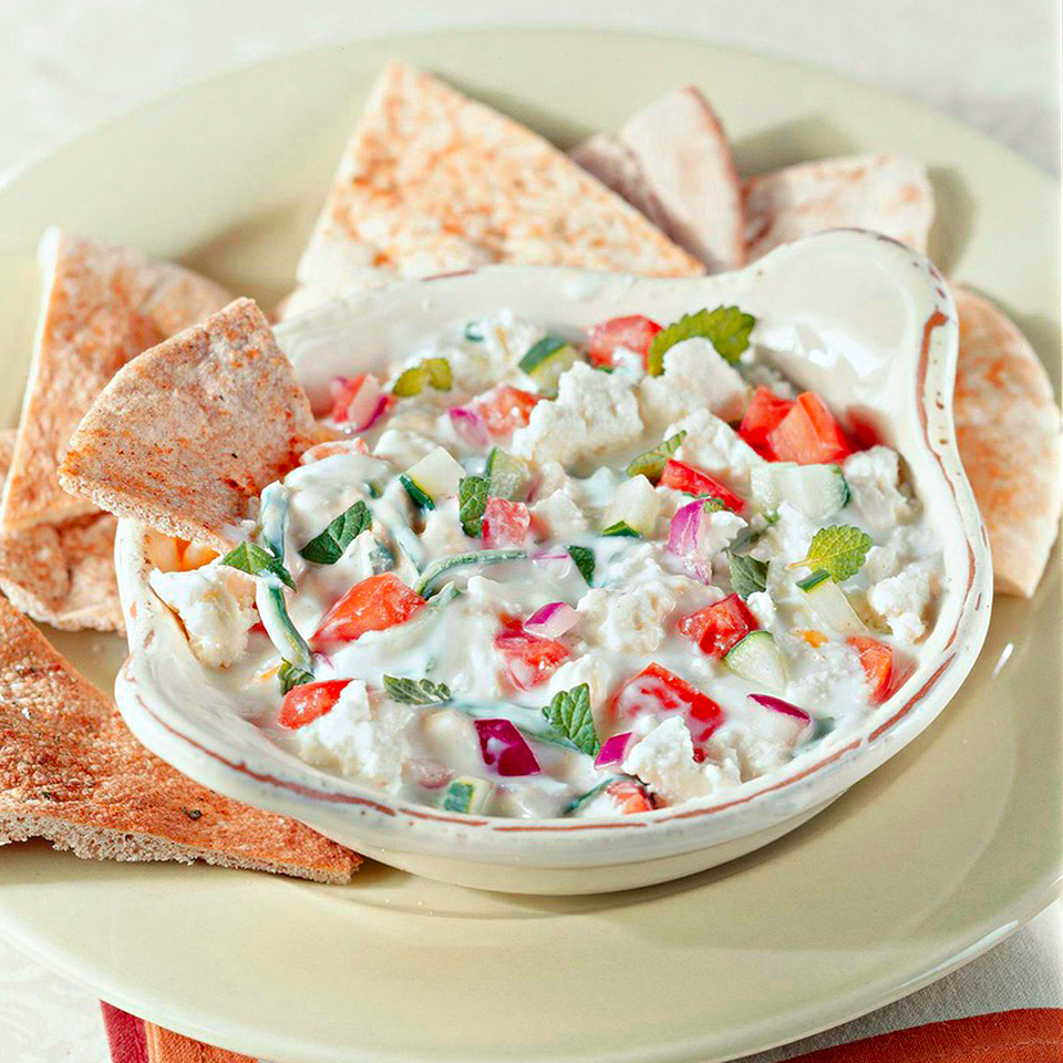 Greek Layer Dip Diabetic Living Magazine