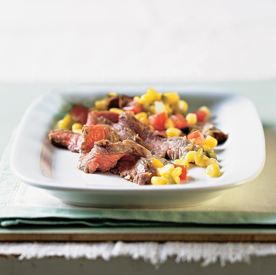 Flank Steak with Corn Salsa Trusted Brands