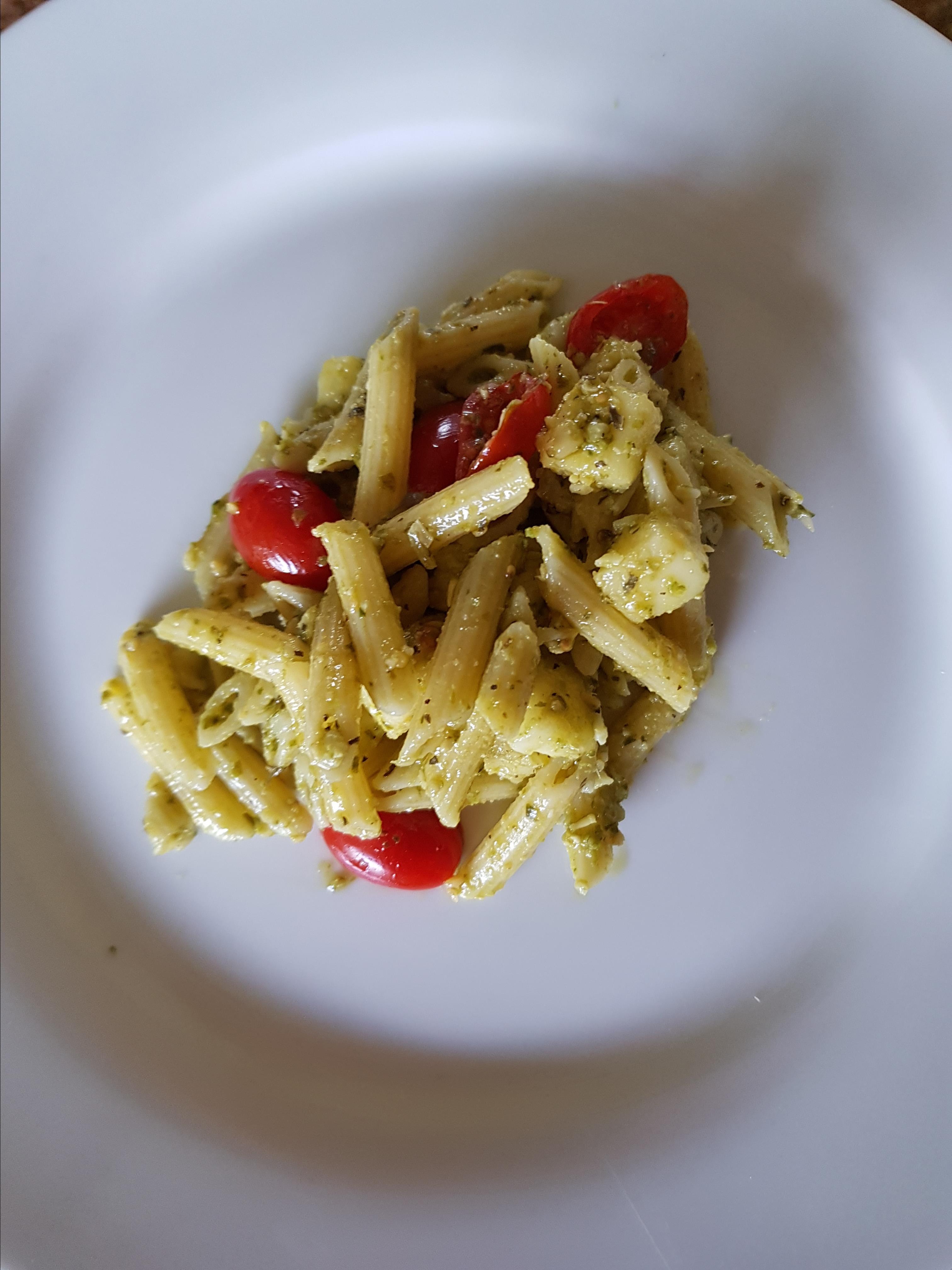 Penne Pesto Pasta Salad Megs