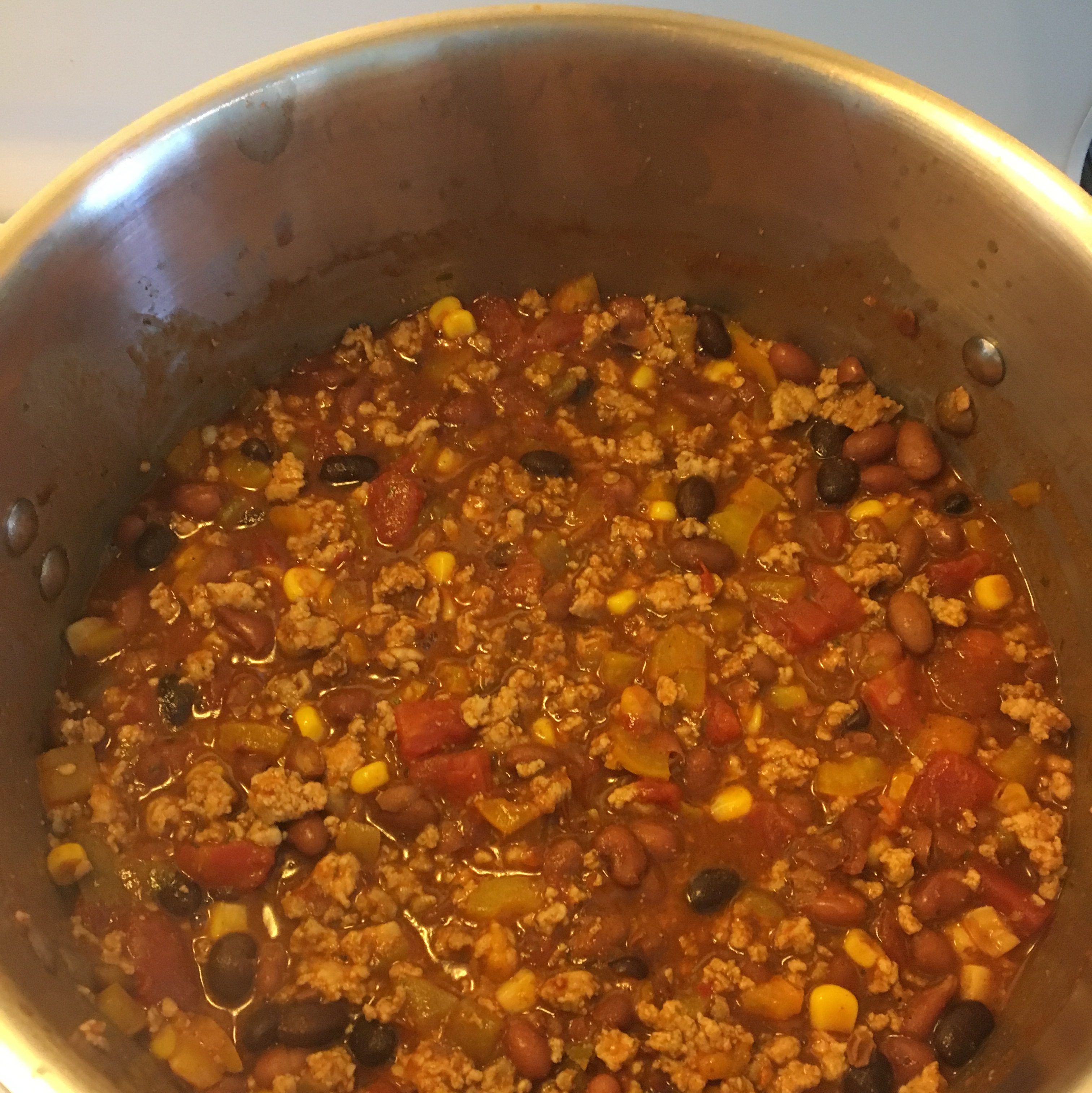 Firehouse Station 2 Healthy Chili
