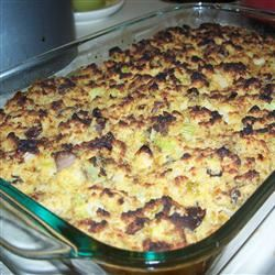 Oyster and Cornbread Dressing Jilly Bean