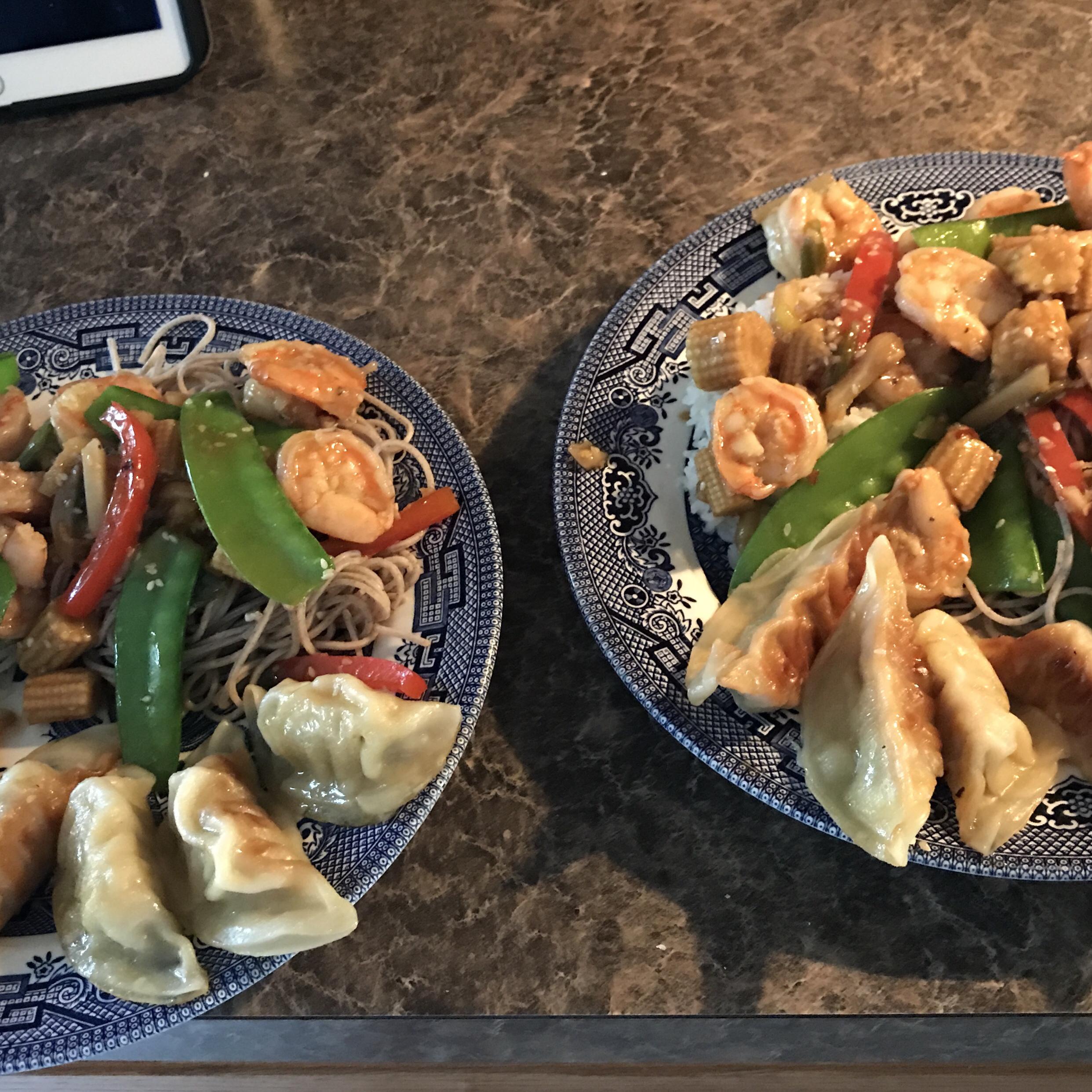 Sesame Shrimp Stir-Fry kevinbreeding